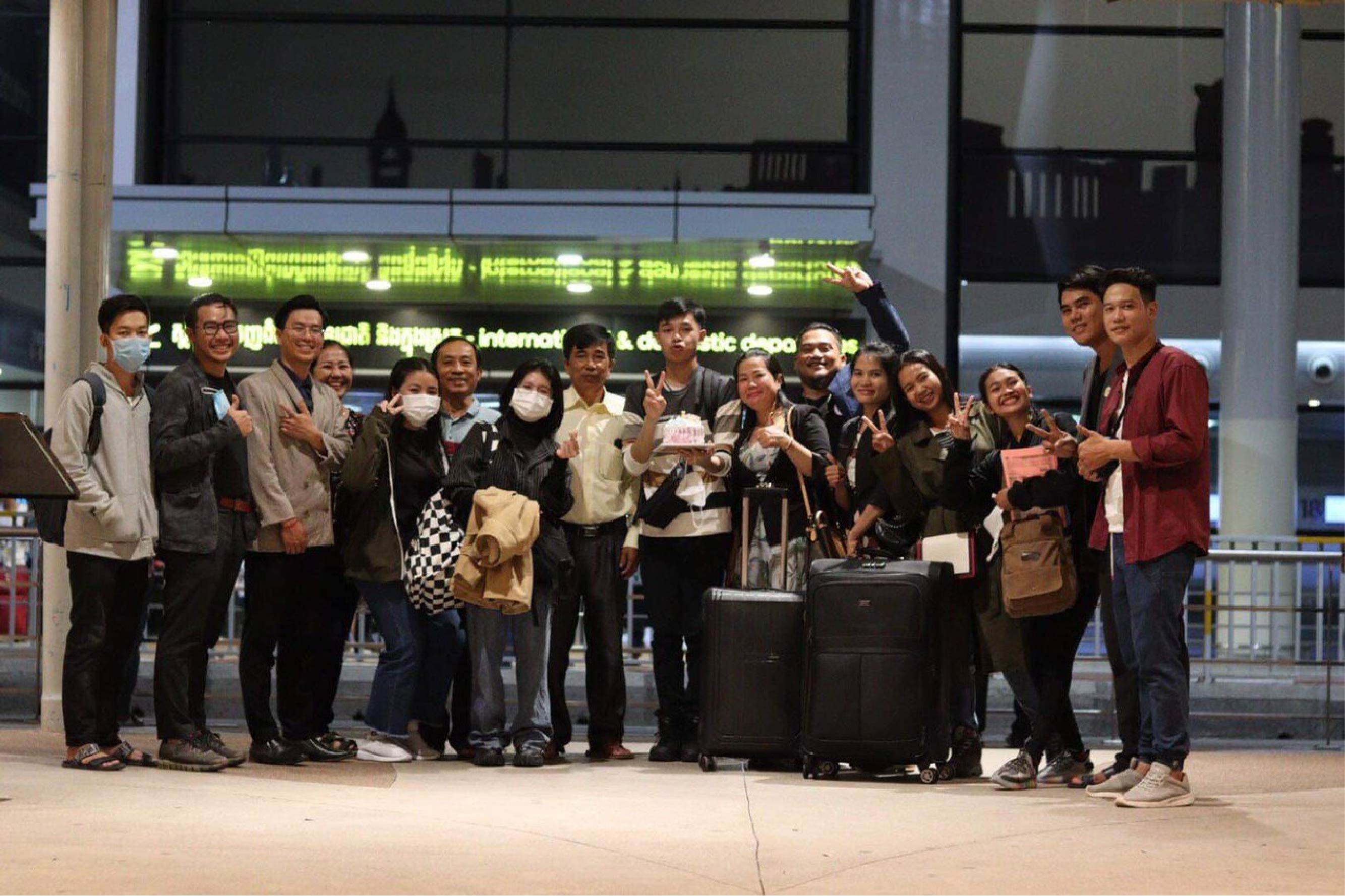 Scholarship Students go to study at Japan