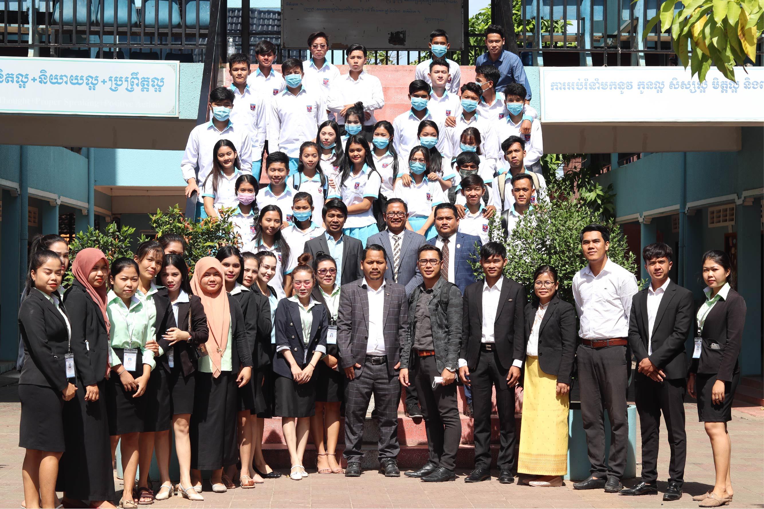 Mirai Japanese Language School(Kampot Branch) Vs Private School of Vattanac Vichea