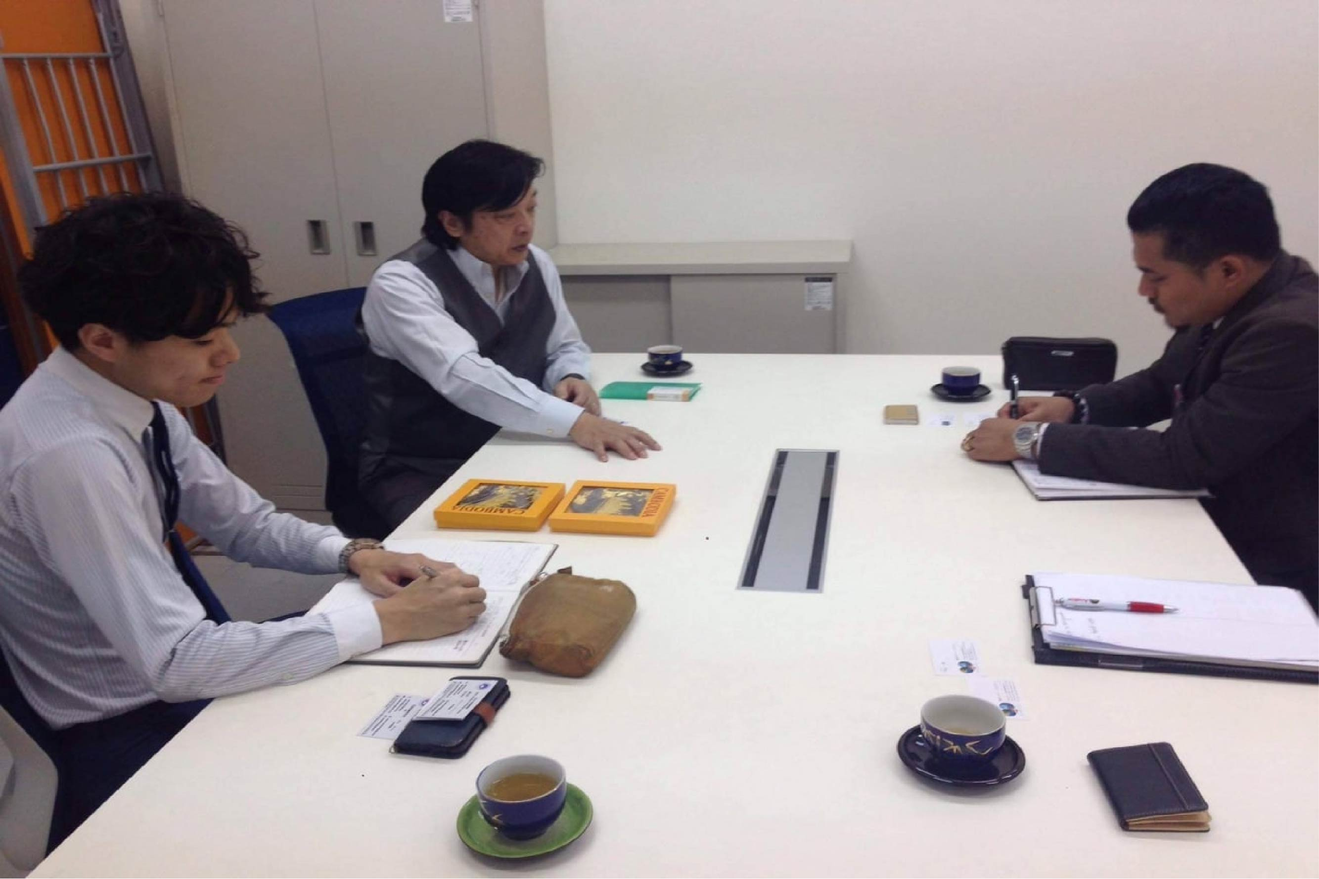 Meeting with Other University in Tokyo
